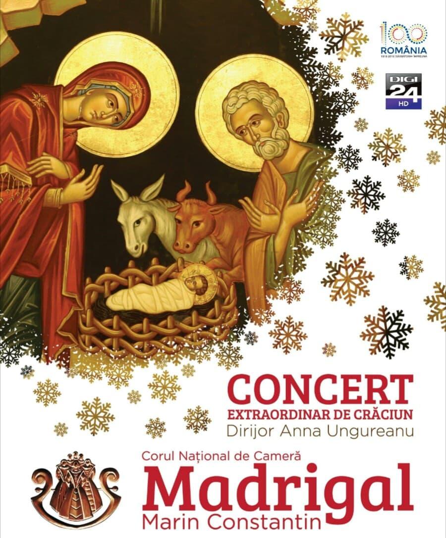 Corul Madrigal - Concert de Crăciun la Teatrul Naţional Cluj-Napoca