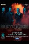 concerte Concerte din Romania afis disturbed concert bucuresti 2019 100x150