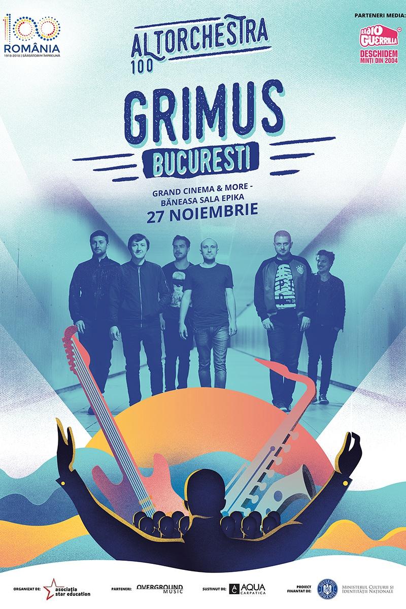 Grimus ALTorchestra 100 la Grand Cinema & More