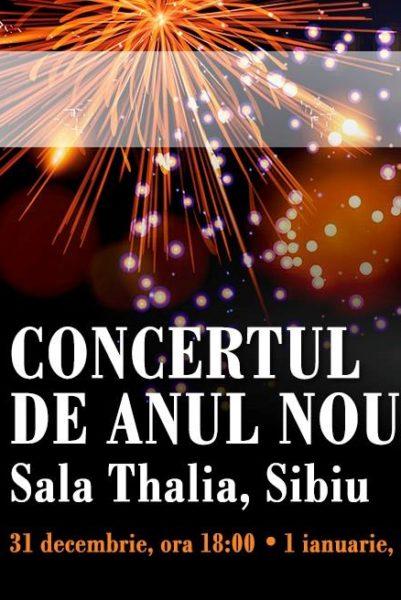 Poster eveniment Iarna: Concert de Anul Nou 2019