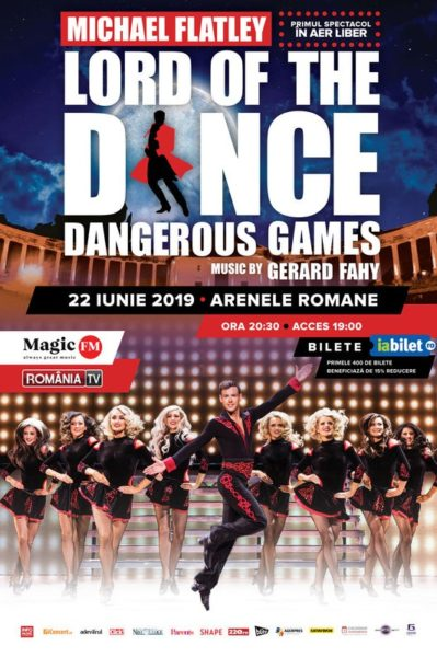 Poster eveniment Lord of the Dance - Dangerous Games 2019