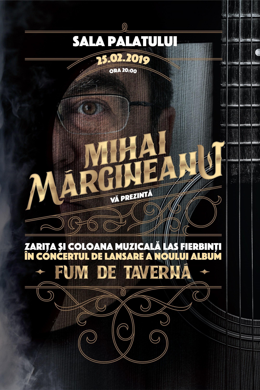 Mihai Mărgineanu - lansare album la Sala Palatului