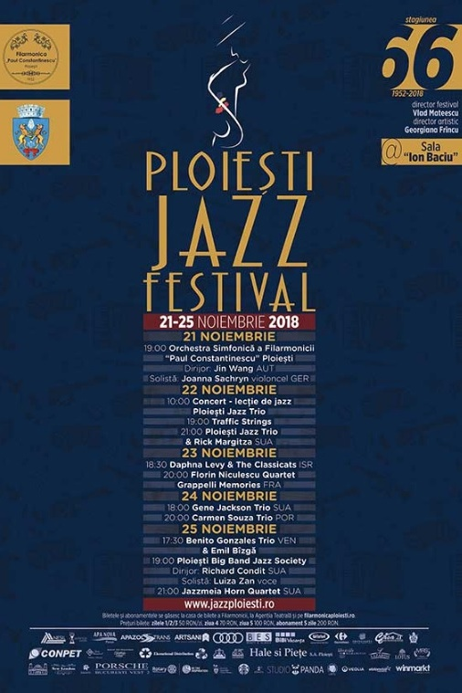Ploiești Jazz Festival 2018 la Filarmonica