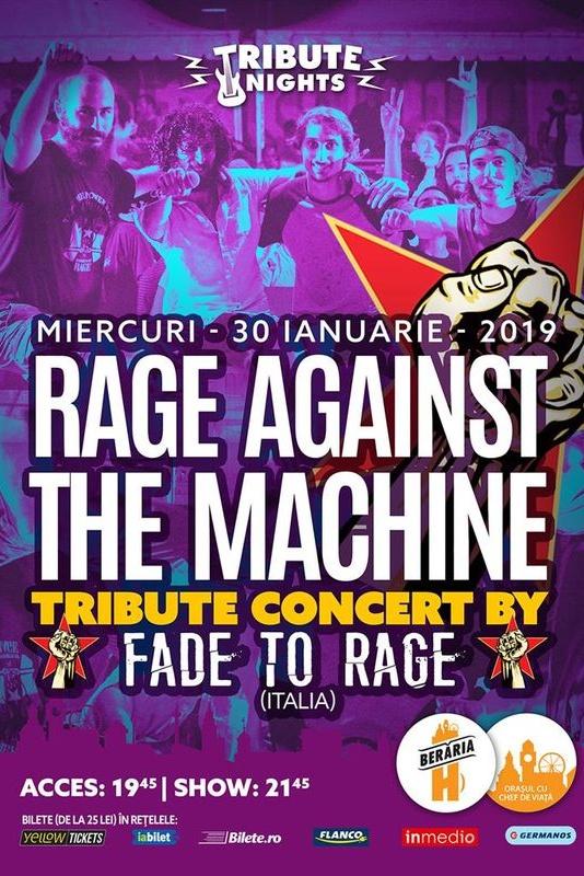 Rage Against The Machine Tribute la Berăria H