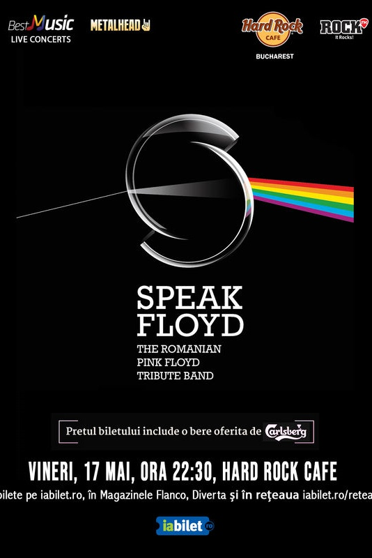 Speak Floyd la Hard Rock Cafe