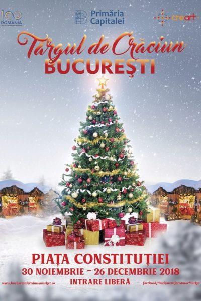 Poster eveniment Târgul de Crăciun București 2018