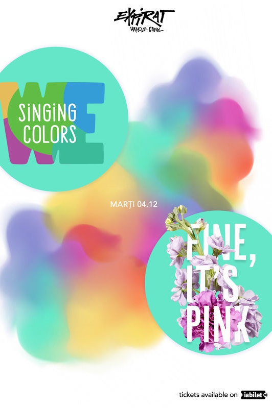 We Singing Colors / Fine, It's Pink la Expirat Club