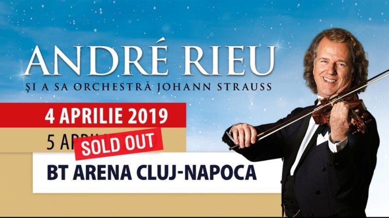 André Rieu susţine încă un concert la BT ARENA din Cluj-Napoca!