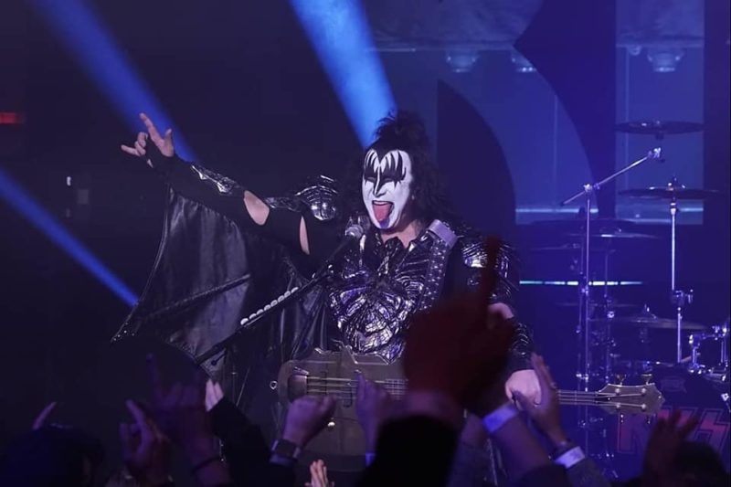Kiss la Jimmy Fallon
