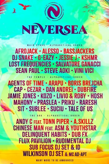 Neversea 2019 la Neversea Beach