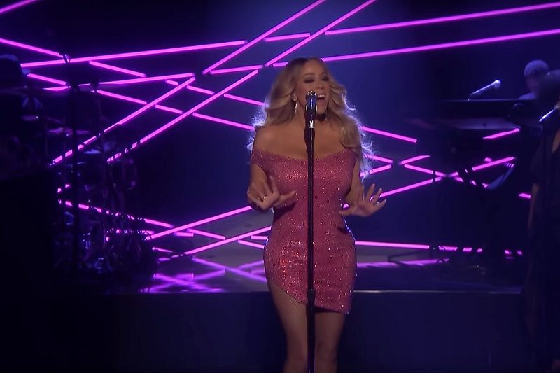 Mariah Carey la Jimmy Fallon