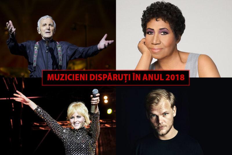 Muzicieni dispăruți în anul 2018