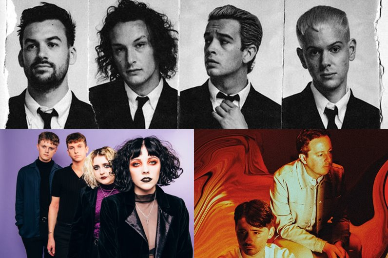 The 1975, Pale Waves și Tender vin la Summer Well