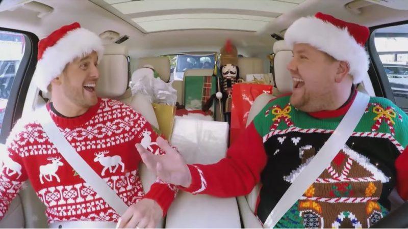 James Corden Carpool Karaoke editie speciala Craciun 2018