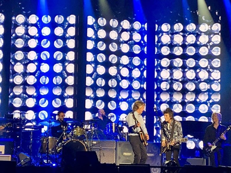Paul McCartney Ringo Starr Ronnie Wood concert O2 Arena 2018