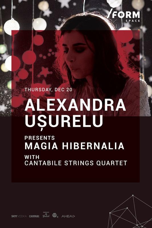 Alexandra Ușurelu - Magia Hibernalia la Form Space Club