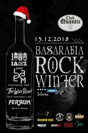 Basarabia Rock Winter la Quantic Club