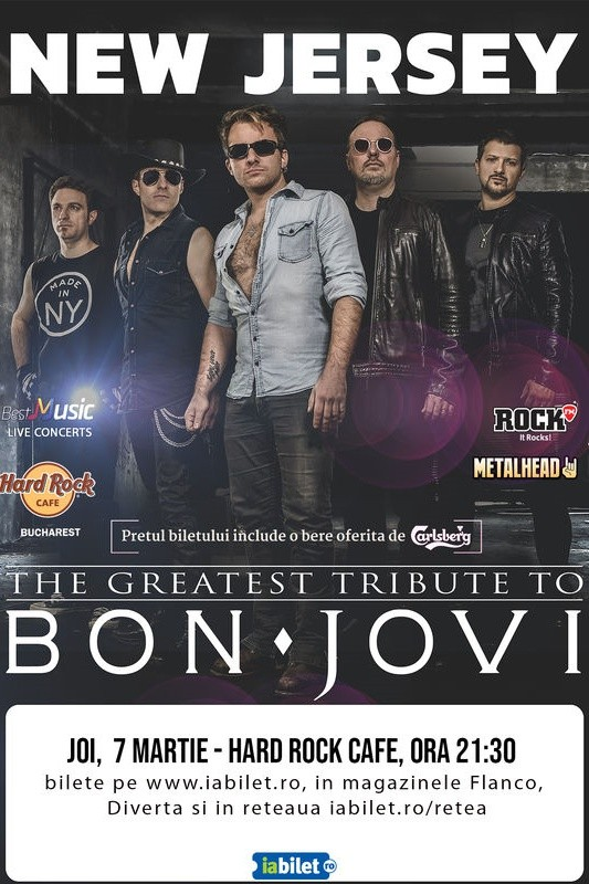 Bon Jovi Tribute la Hard Rock Cafe