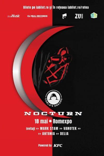 """Poster eveniment Carla\'s Dreams - \""""Nocturn\"""""""