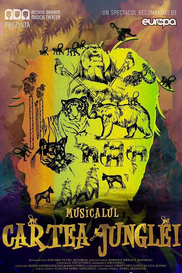 Cartea Junglei - Musical la Palatul Național al Copiilor