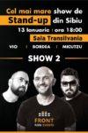 Cel mai mare show de stand-up din Sibiu