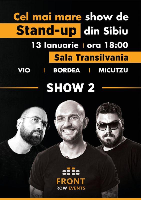 Cel mai mare show de stand-up din Sibiu la Sala Sporturilor