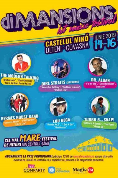 Poster eveniment diMANSIONS Festival 2019