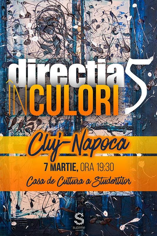 Direcția 5 la Casa de Cultură a Studenților din Cluj-Napoca