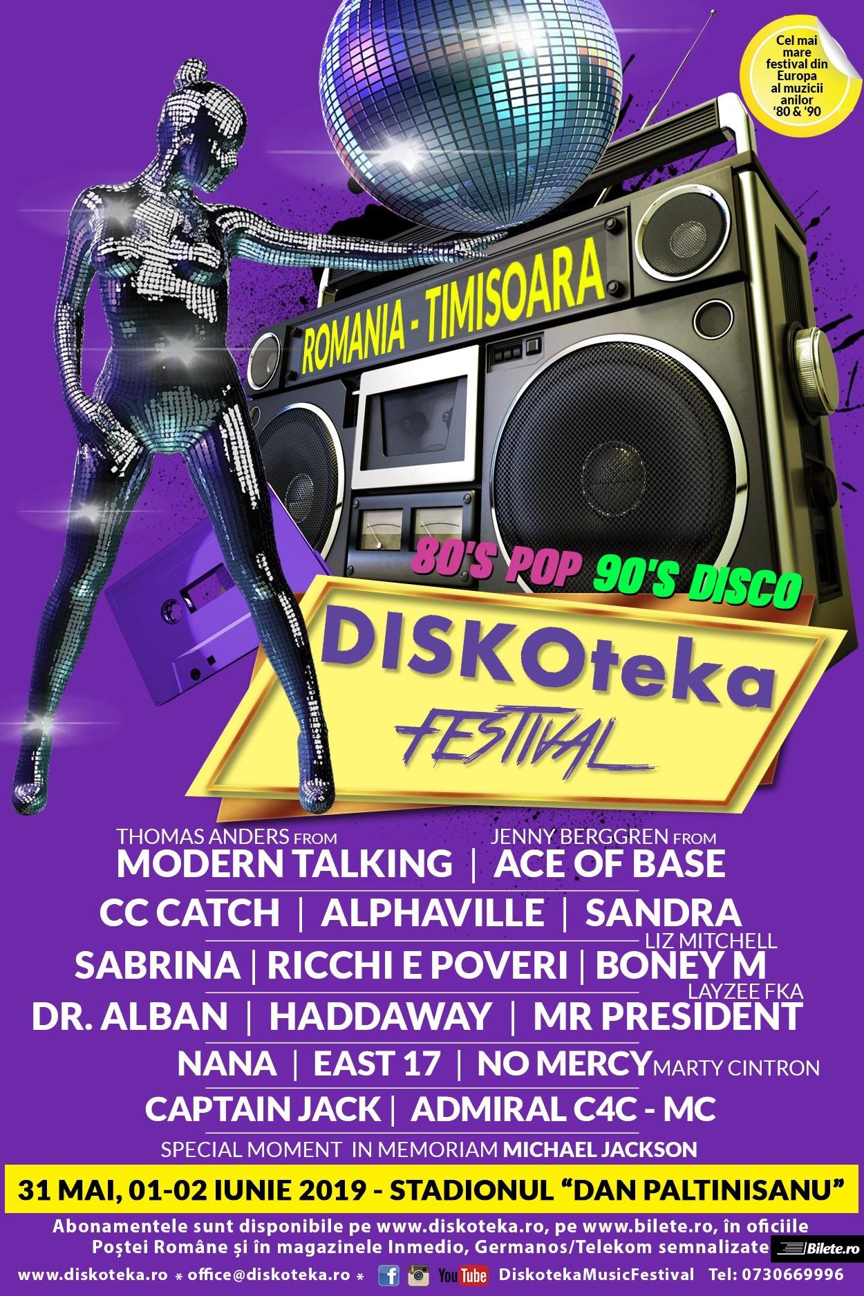Diskoteka Festival 2019 la Stadionul