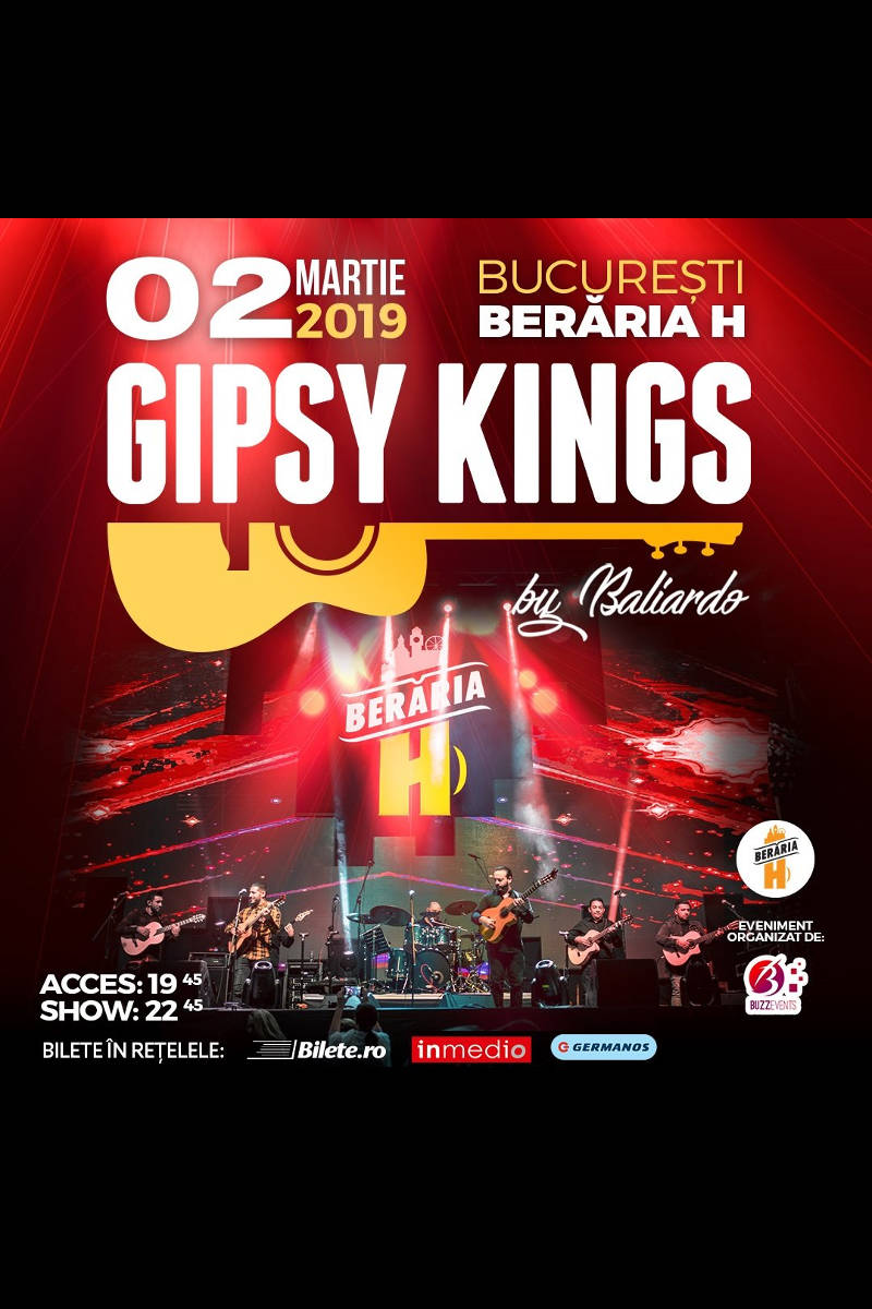 Gipsy Kings la Berăria H