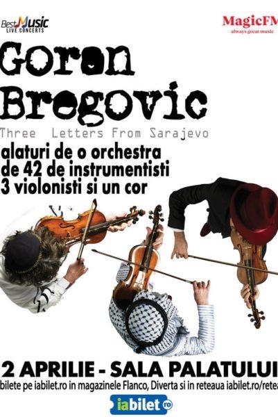 Poster eveniment Goran Bregović