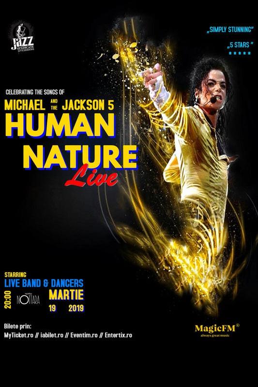 Human Nature Live la Teatrul Nottara