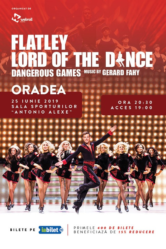 Lord of the Dance - Dangerous Games 2019 la Sala Sporturilor / Arena