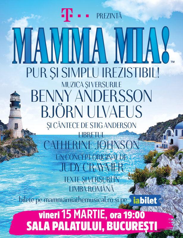 Mamma Mia! la Sala Palatului