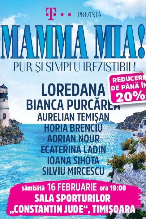 Mamma Mia! la Sala Sporturilor