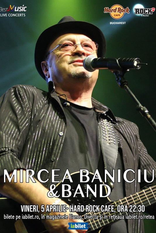 Mircea Baniciu la Hard Rock Cafe