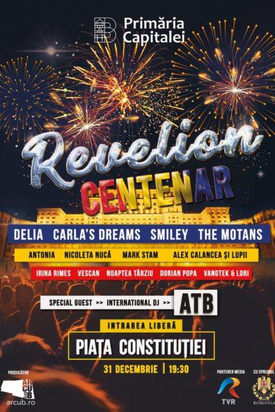 Poster eveniment Revelion Centenar