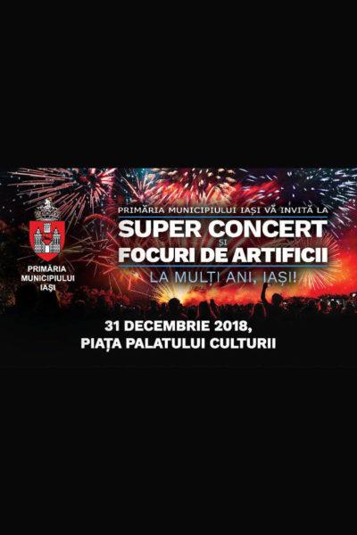 Poster eveniment Revelion Iași 2019