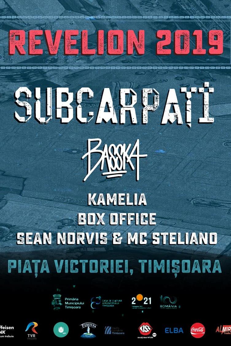Revelion Timișoara 2019 la Piața Victoriei din Timișoara