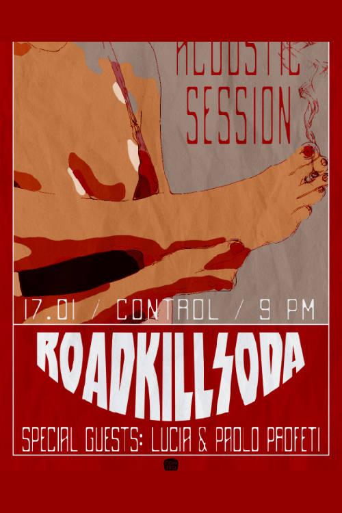 RoadkillSoda - acustic la Club Control