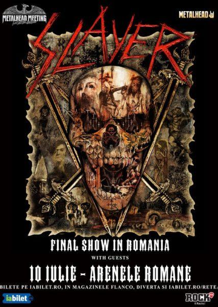 Poster eveniment Slayer