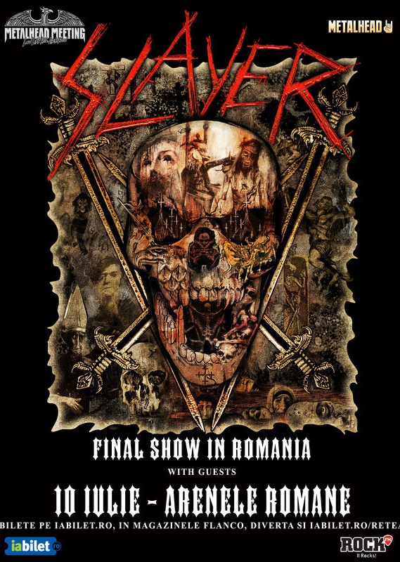 Slayer la Arenele Romane