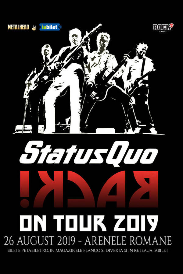 Status Quo - In The Army Now! la Arenele Romane