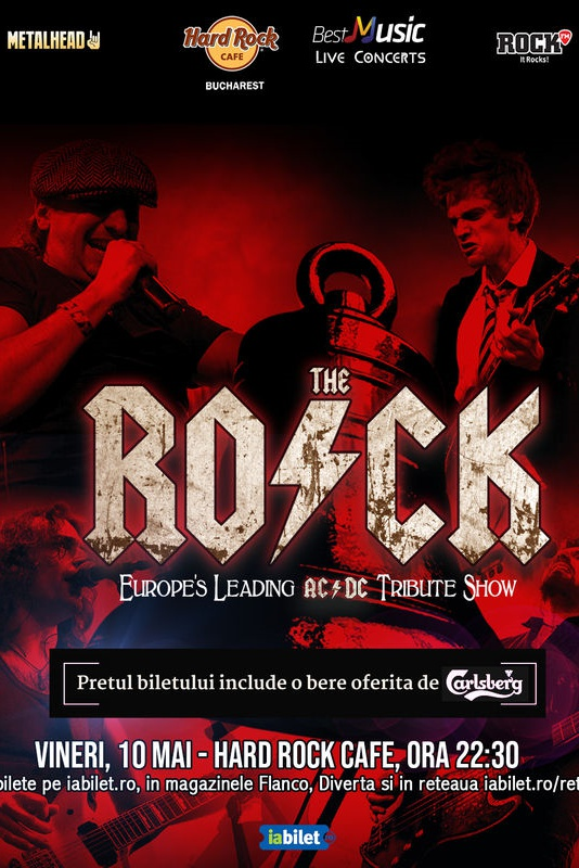 The R.O.C.K. - AC/DC Tribute la Hard Rock Cafe