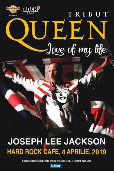 Poster eveniment Tribut Queen \'\'Love of my life\'\'