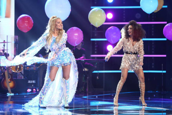 Bella Santiago și Delia în finala X Factor 2018