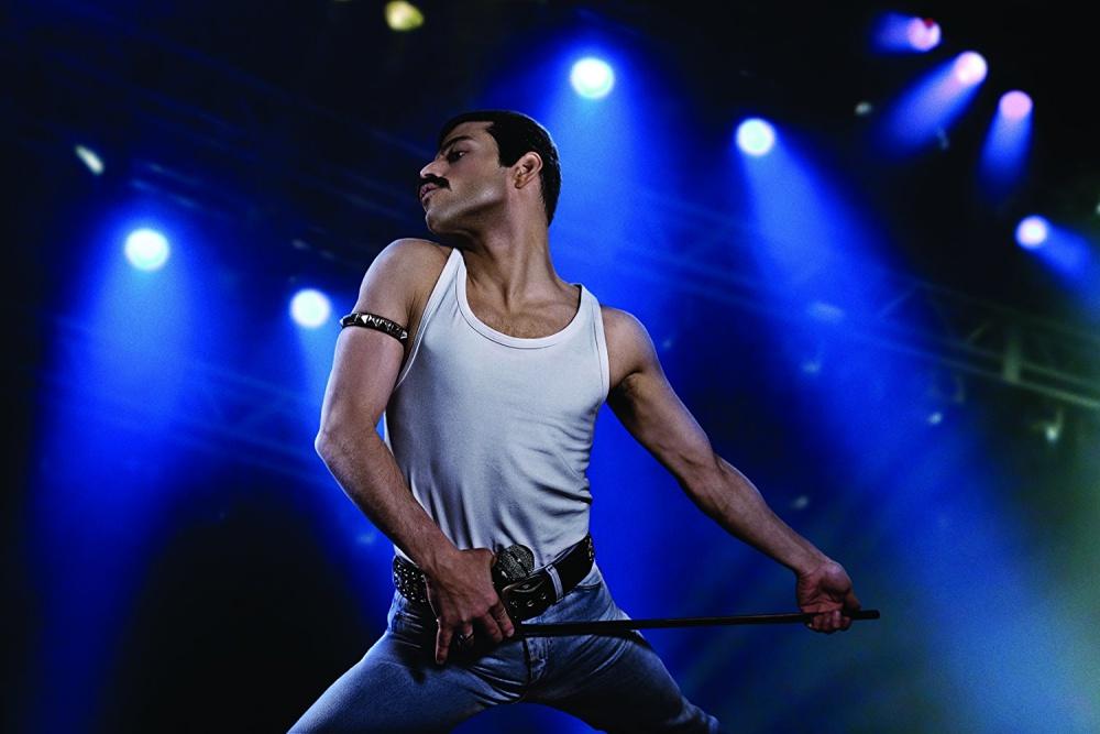Rami Malek în Bohemian Rhapsody