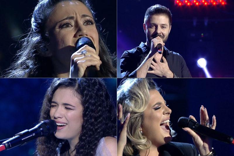 Cei patru semifinaliști din al doilea live Vocea României 2018