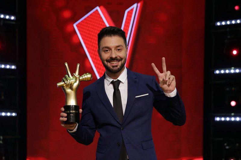 Bogdan Ioan, câștigătorul trofeului Vocea României 2018