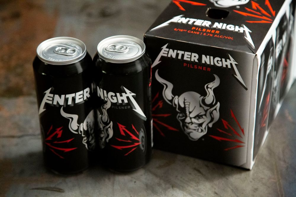 Bere Metallica Enter Night